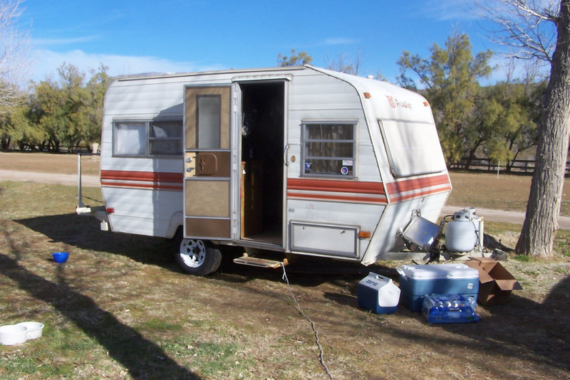 Model 16 Ft Travel Trailer  Caravans  Pinterest  Travel Trailers